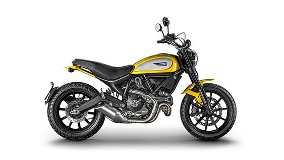 Scrambler Ducati Icon - Yellow